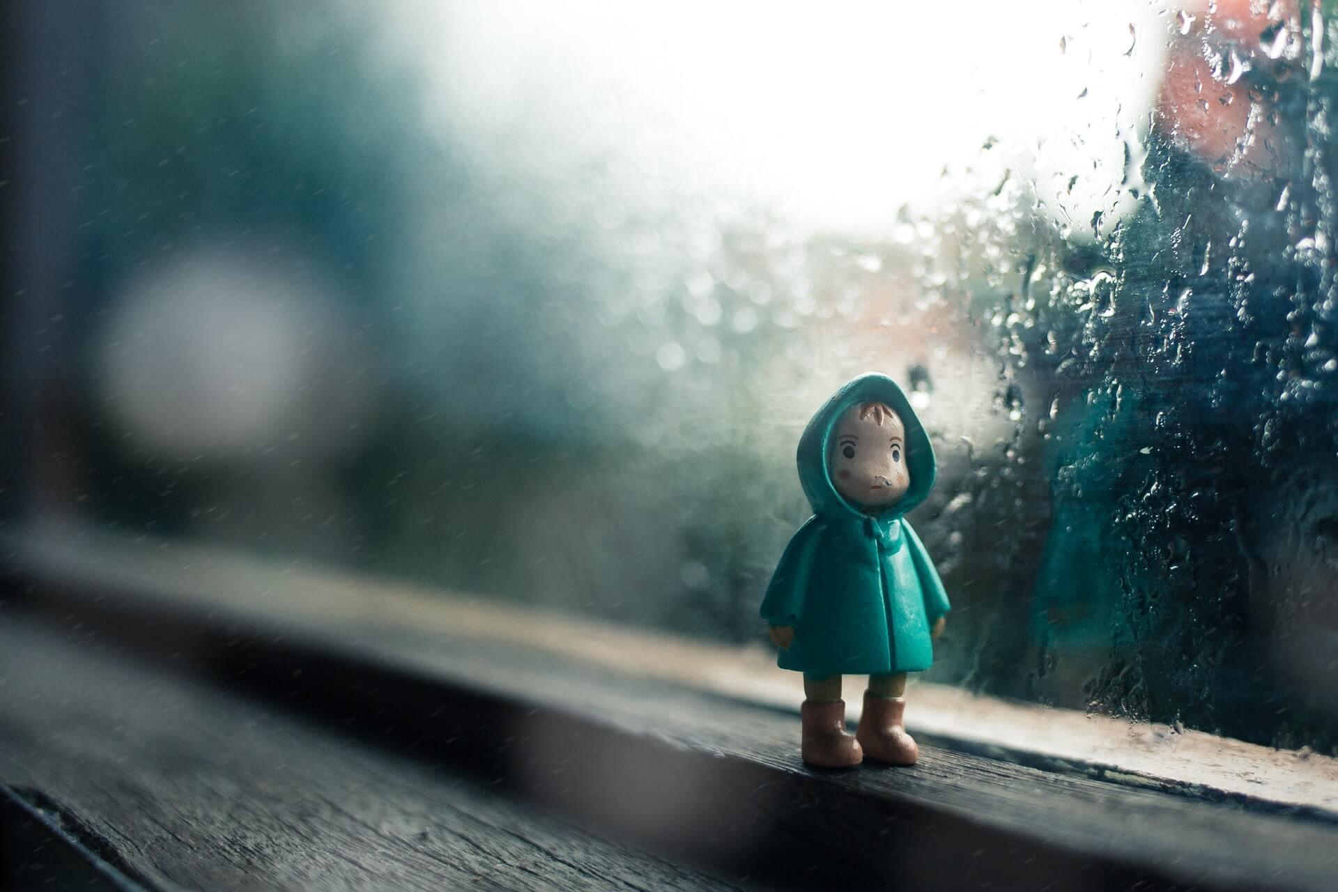 雨の日の子育て